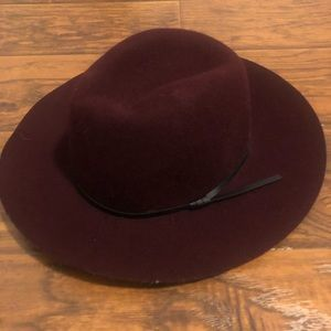 Red Francesca's collections floppy hat